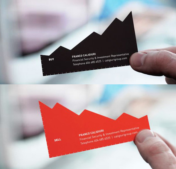 Creative business cards designs for your inspiration 3 financial security investment representative card fbccfo Choice Image